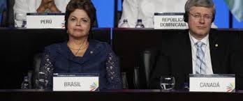 photo diplomats brasil canada harper