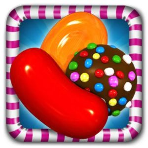 app icon for candy crush game
