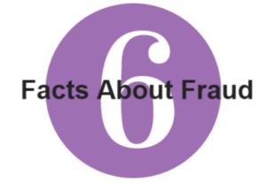 illustration number six text facts about fraud