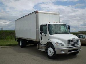 photo cargo truck outside