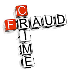graphic letters on cubes fraud crime