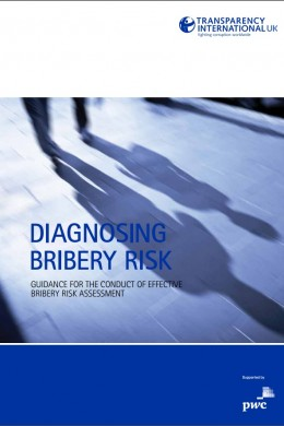 graphic diagnosing bribery risk cover