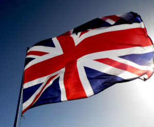 stock photo flag of britain union jack