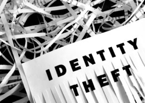 stock photo shredded papers identity theft
