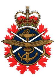 illustration canada forces emblem