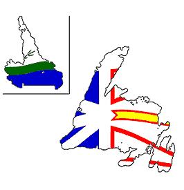 illustration of new foundland and labrador