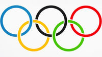 graphic olympic rings logo