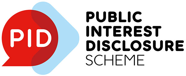 graphic logo public interest disclosure scheme