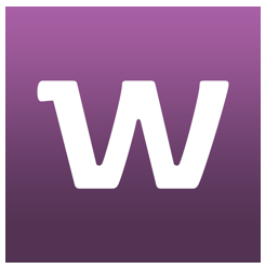 square logo for whisper