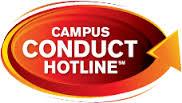 graphic logo campus conduct hotline