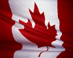 stock photo canada flag
