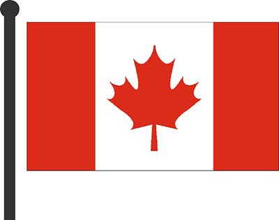 illustration canadian flag
