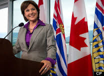 editorial christy clark british columbia premier