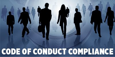 stock photo code of conduct shadows of people