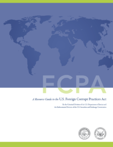 graphic cover of FCPA guide