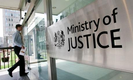 stock photo ministry of justice UK