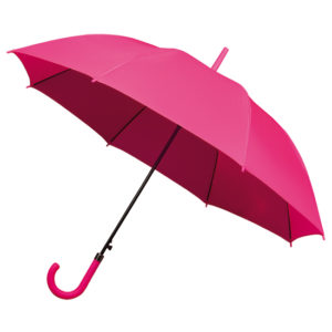 stock photo pink umbrella open