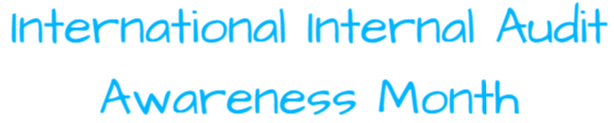 illustration text international internal audit awareness month