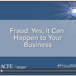 Fraud can happen to your business