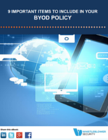 9 Important Items to Include in Your BYOD Policy